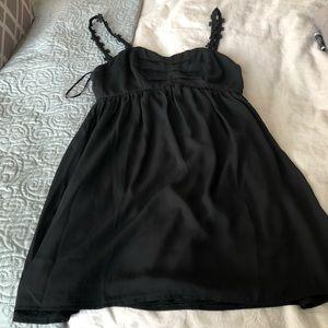 Small black mini dress